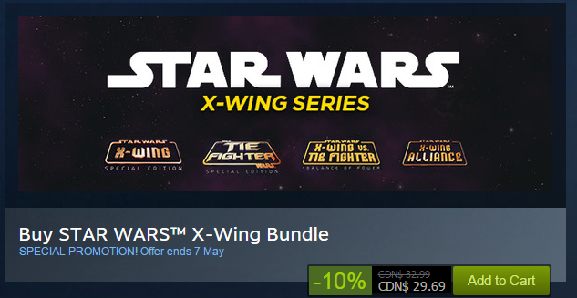 Star Wars games on Steam