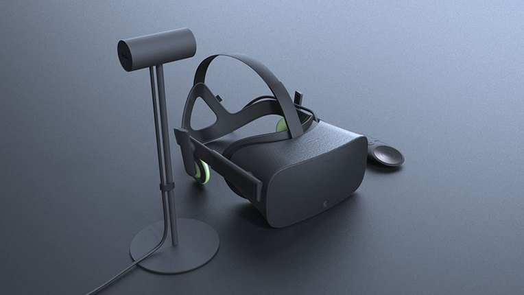 Here's a look at what the new Oculus Rift looks like!