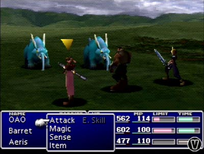 ffvii-battle-scene