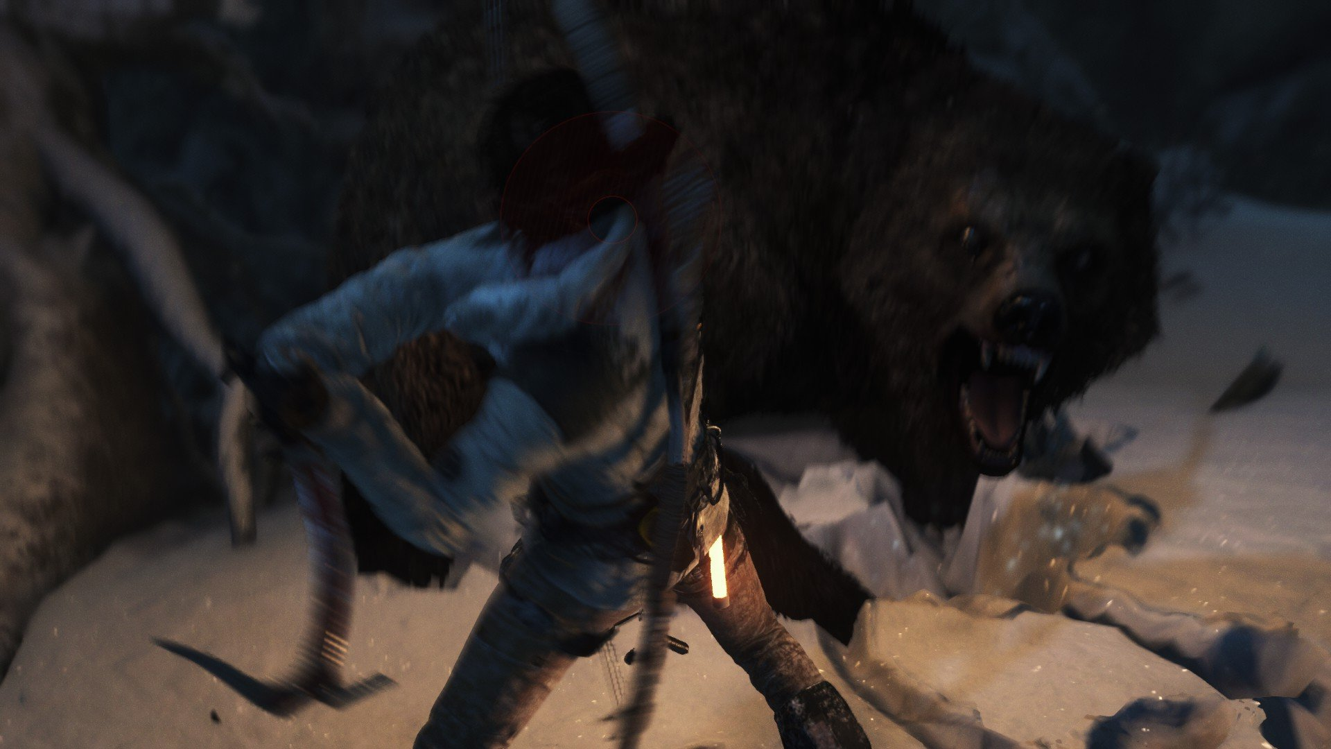 You ever had your life flash before your eyes? That happened in this fight with a bear.