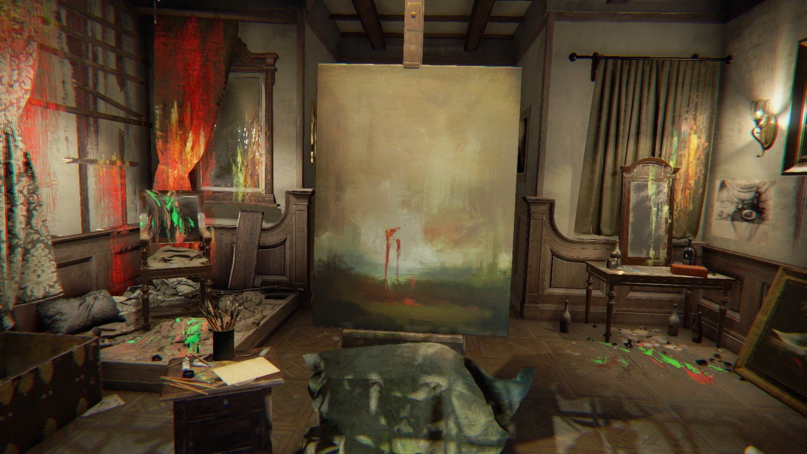 Layers of Fear - Canvas
